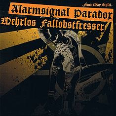 "Alarmsignal / Paradox / Fallobstfresser / Wehrlos ""4 Way Split"" CD"