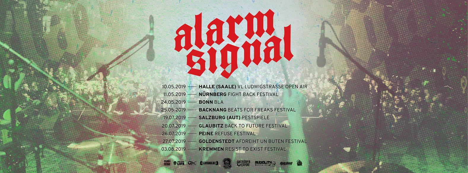 Alarmsignal Konzerte 2019