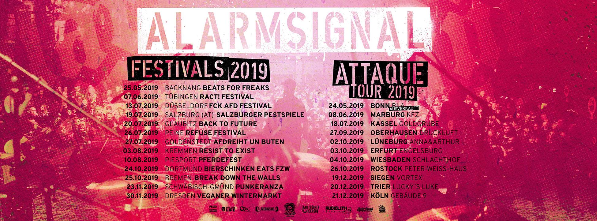 Alarmsignal - Attaque Tour 2019