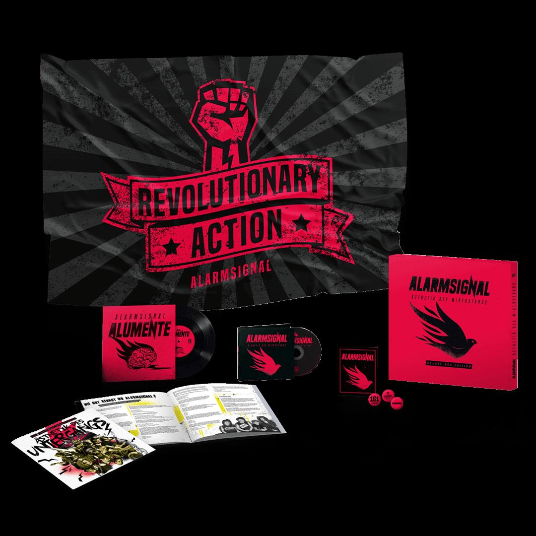 Alarmsignal - Ästhetik des Widerstands - CD FAN BOX